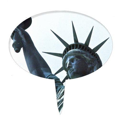 Estatua de la libertad: La antorcha Palillos De Tarta
