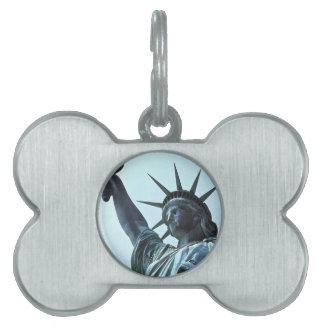 Estatua de la libertad: La antorcha Placas Mascota
