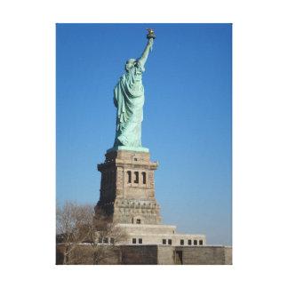 Estatua de la libertad impresión en tela