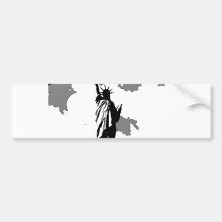 Estatua de la libertad New York City Pegatina Para Auto