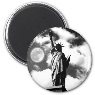 Estatua de la libertad New York City Imán De Nevera