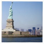Estatua de la libertad, New York City, Nueva York Teja Ceramica