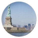 Estatua de la libertad, New York City, Nueva York Platos De Comidas