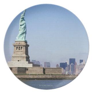 Estatua de la libertad, New York City, Nueva York Platos