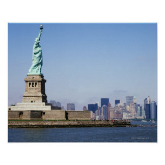 Estatua de la libertad, New York City, Nueva York Póster