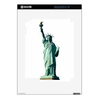 Estatua de la libertad New York City NYC Calcomanías Para El iPad 2