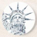 Estatua de la libertad New York City Posavasos Manualidades