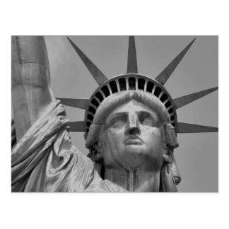 Estatua de la libertad New York City Postales