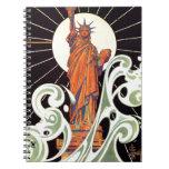 Estatua de la libertad notebook