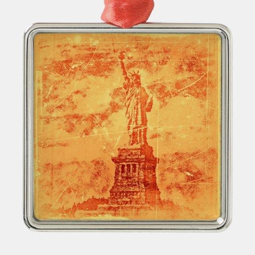 Estatua de la libertad, Nueva York #2 - ornamentos Ornamentos De Navidad