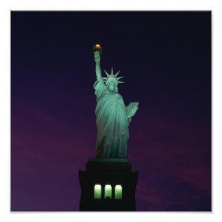 Estatua de la libertad, Nueva York, los E.E.U.U. 7 Cojinete