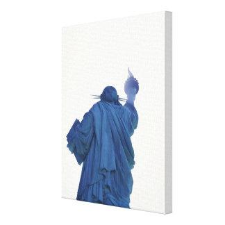 Estatua de la libertad, Nueva York, los E.E.U.U. R Lona Envuelta Para Galerías