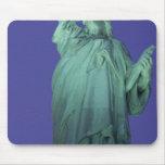 Estatua de la libertad, Nueva York, los E.E.U.U. Alfombrillas De Ratón