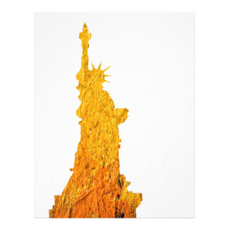 Estatua de la libertad, Nueva York Plantillas De Membrete