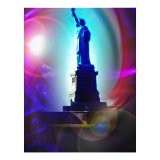 Estatua de la libertad Nueva York Plantillas De Membrete