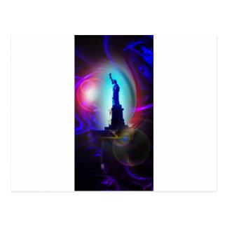 Estatua de la libertad Nueva York Tarjetas Postales