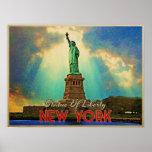 Estatua de la libertad NYC Posters