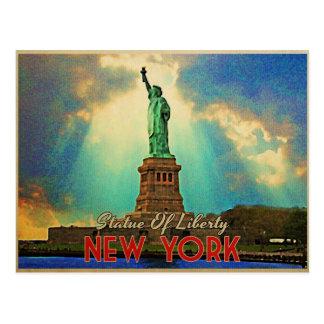 Estatua de la libertad NYC Postal