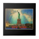 Estatua de la libertad NYC Tejas Cerámicas