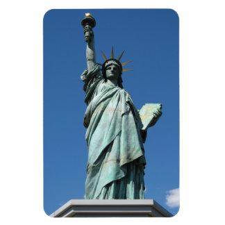 Estatua de la libertad, Odaiba, Tokio, Japón Rectangle Magnet