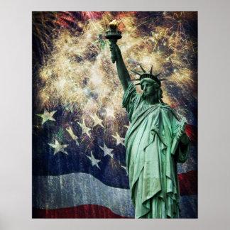 Estatua de la libertad impresiones