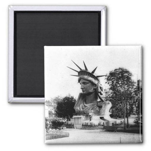 Estatua de la libertad París Francia Imán Para Frigorifico