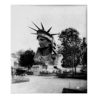 Estatua de la libertad París Francia Posters