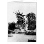 Estatua de la libertad París Francia Felicitaciones