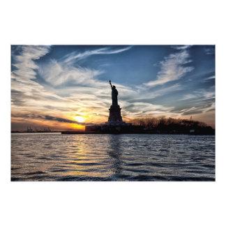Estatua de la libertad impresiones fotograficas