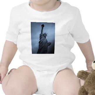 Estatua de la libertad trajes de bebé