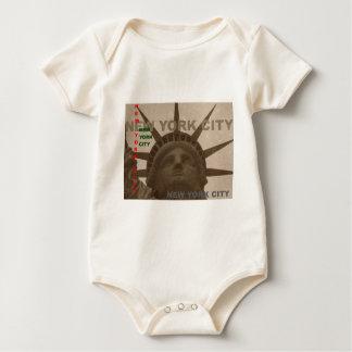 Estatua de la libertad traje de bebé