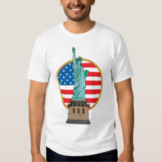 Estatua de la libertad polera