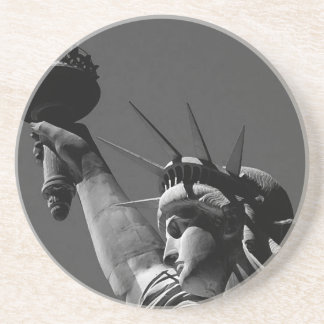 Estatua de la libertad posavasos cerveza
