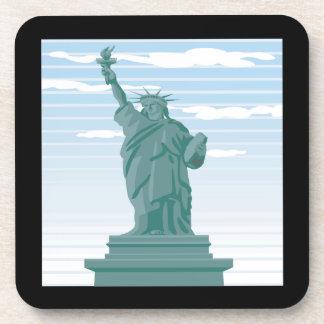 Estatua de la libertad posavasos