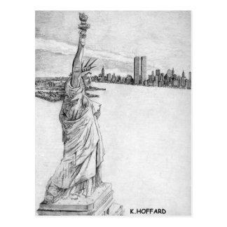 """""""Estatua de la libertad """" Postal"""