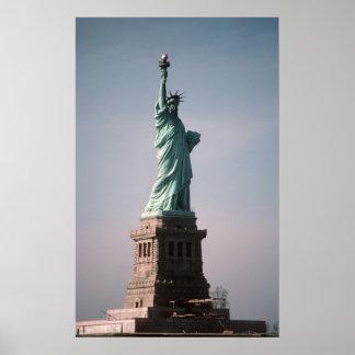 Estatua de la libertad póster