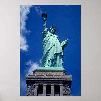 """""""Estatua de la libertad, poster de New York City"""""""