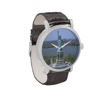Estatua de la libertad relojes de mano