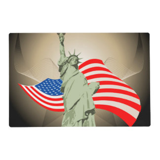 Estatua de la libertad tapete individual