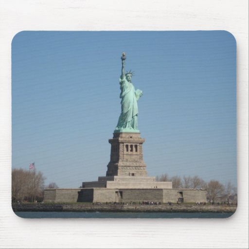 Estatua de la libertad tapetes de ratones