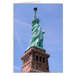 Estatua de la libertad - tarjeta de felicitación d