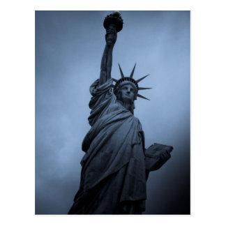 Estatua de la libertad postales