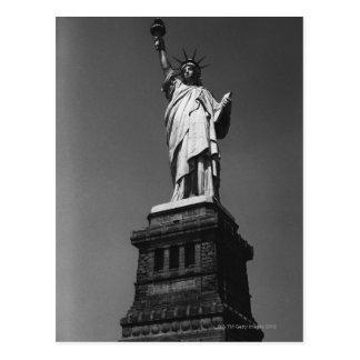 Estatua de la libertad postal