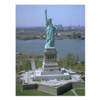Estatua de la libertad tarjetas postales