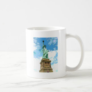 Estatua de la libertad taza