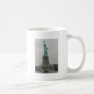 Estatua de la libertad taza de café