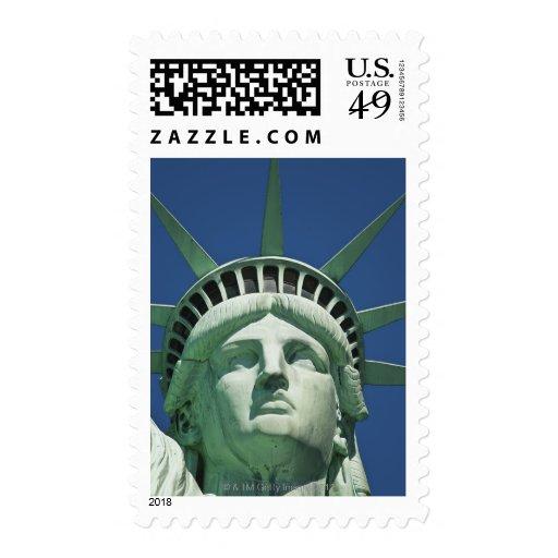 Estatua de la libertad timbre postal
