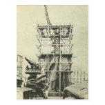 Estatua de la Prueba-Estructura de la libertad en Postal