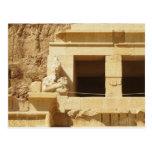 Estatua de la reina Hatshepsut, templo de Hatsheps Tarjetas Postales