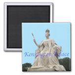 Estatua de la reina Victoria del palacio de Kensin Iman Para Frigorífico